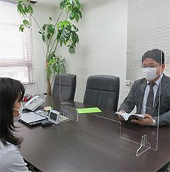 当事務所の感染防止対策について